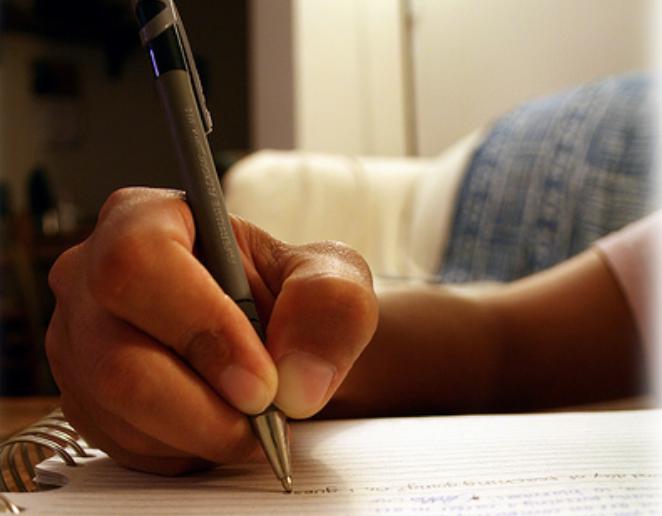 skriva som en skribent